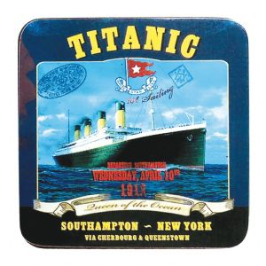 Titanic Southampton Blue Collectors Drinks Coaster (sg)
